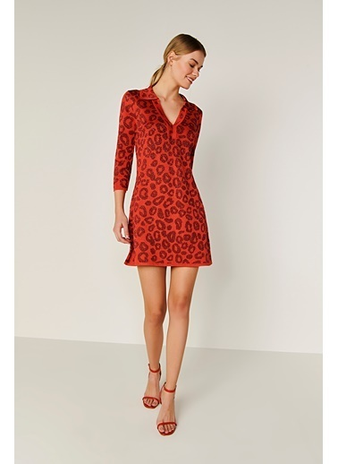Join Us Elbise Kırmızı